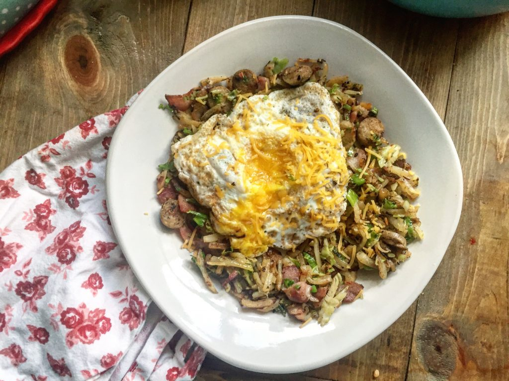 Not your mama's breakfast skillet
