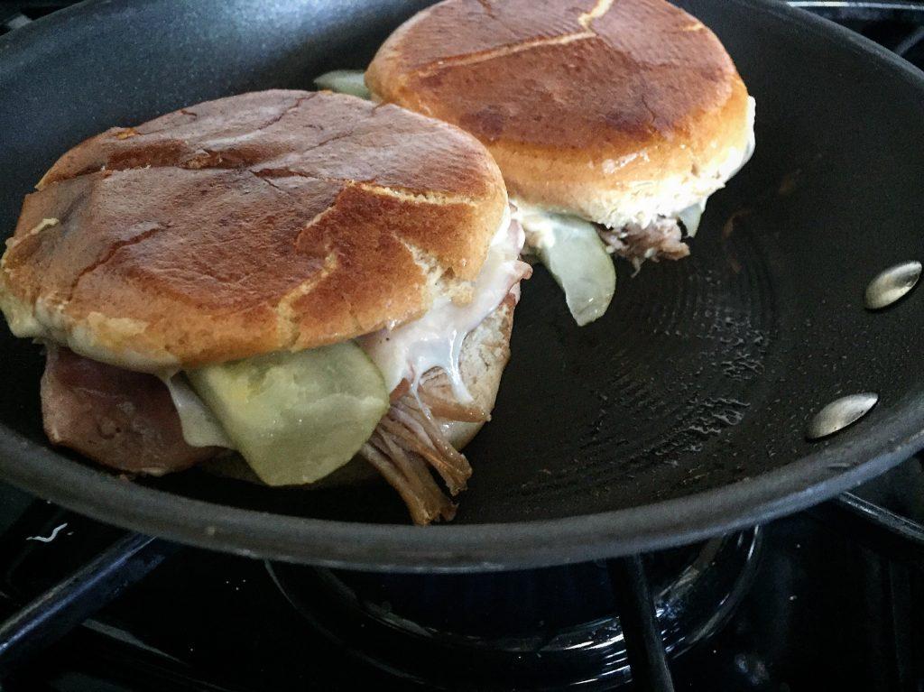Skinny Cuban Sandwiches