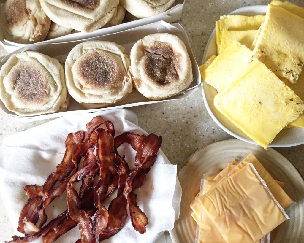 Freezer Friendly Breakfast Sandwiches