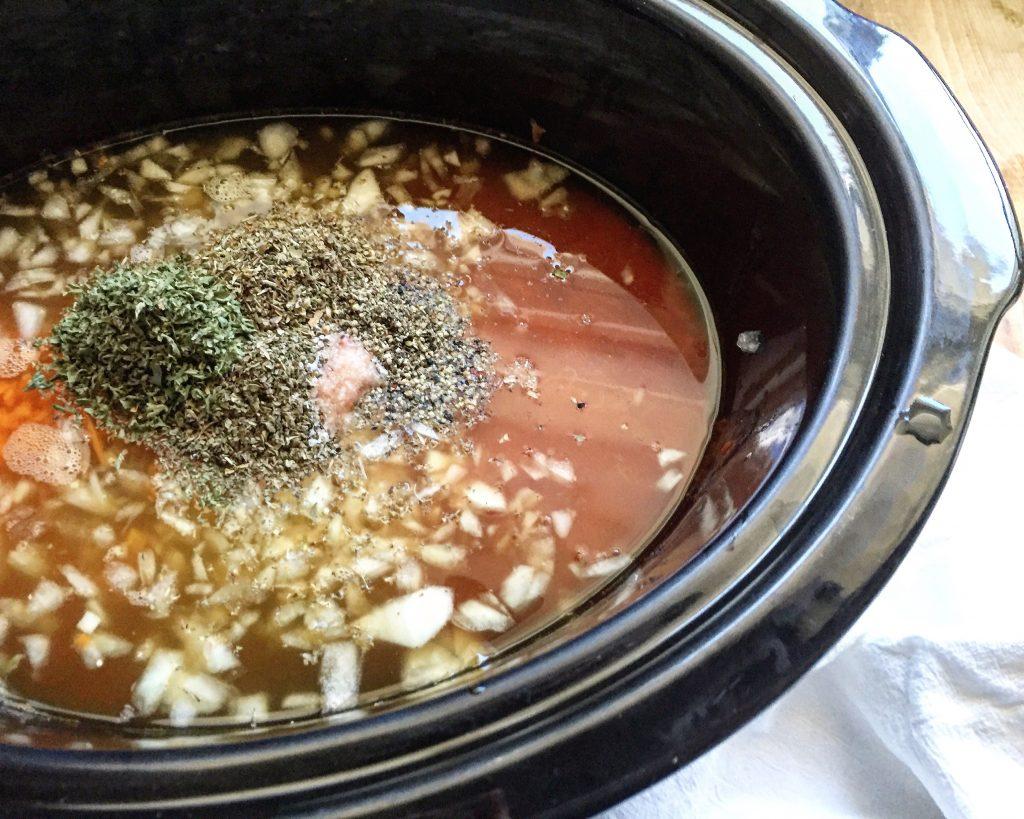 Creamy Herb Tomato Soup