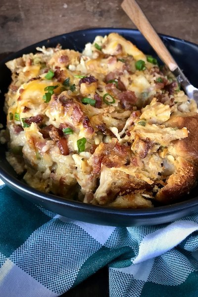 Loaded Chicken Bubble Up Bake