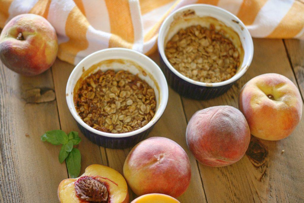 Erin's Peach Crisp