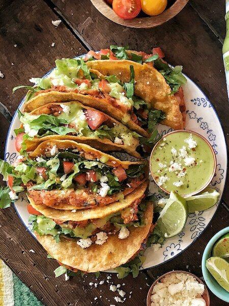 Chicken Street Tacos The Skinnyish Dish