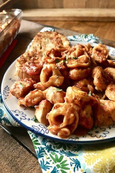 Cheesy Chicken Tortellini