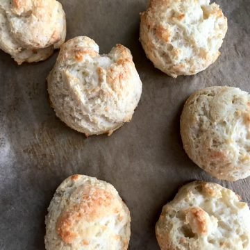 two ingredient dough biscuits