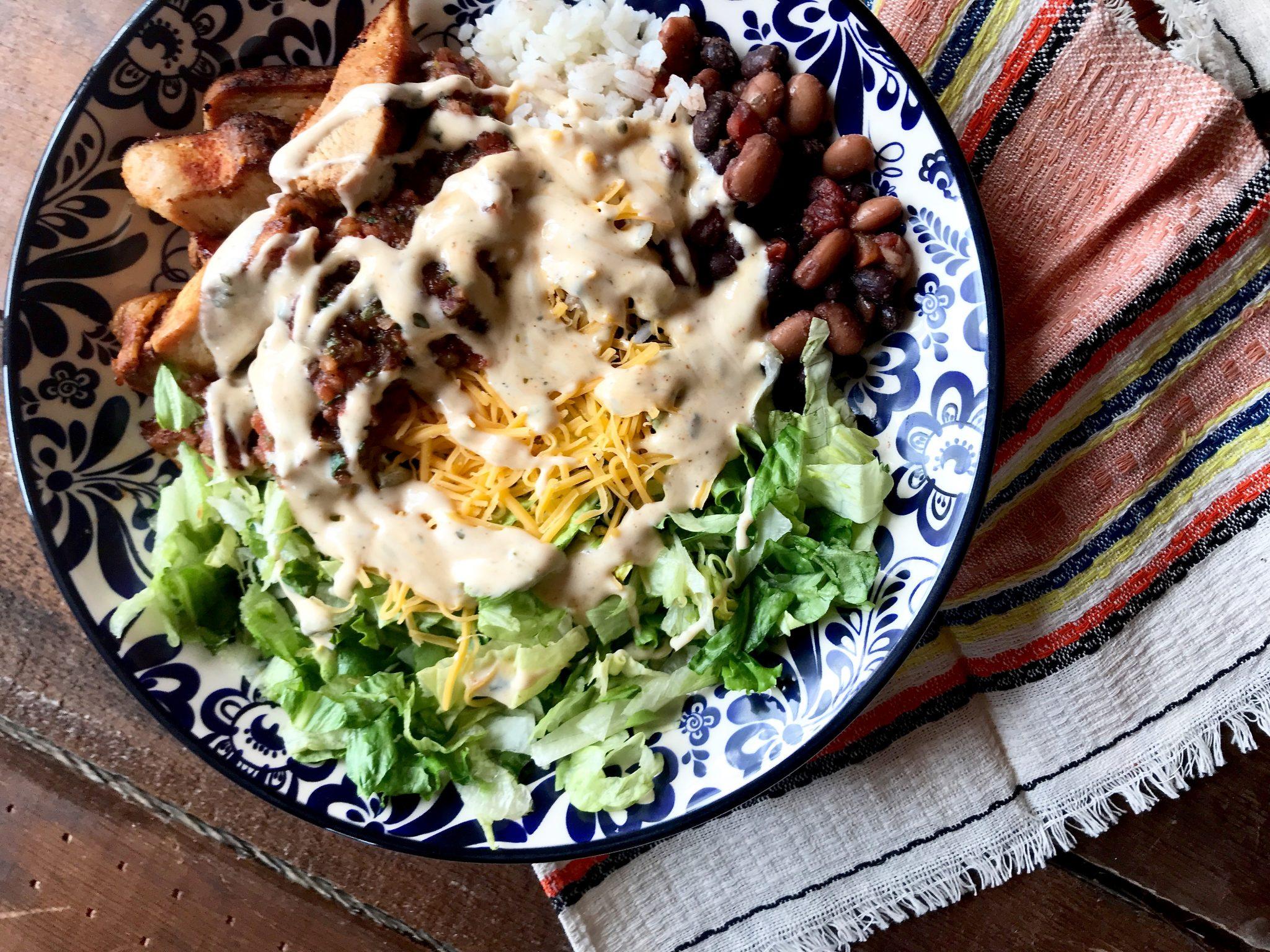 Chicken Burrito Bowls Weight Watchers Friendly