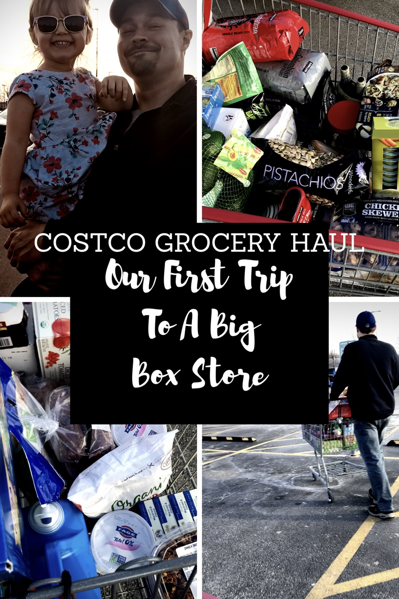 Our First Big Box Store Trip (Costco Grocery Haul!)