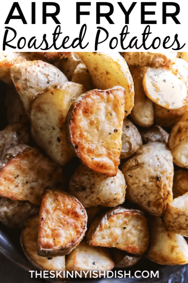 My Air Fryer Roasted Potatoes are the perfect healthy alternative to your diner favorite.  Using olive oils and your air fryer to crisp these potatoes to perfection they are wonderful with your breakfast any morning! #airfryer #roastedpotatoes #ww
