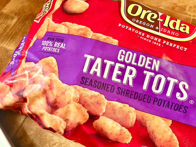 Buffalo Chicken Tater Tot Cups - The