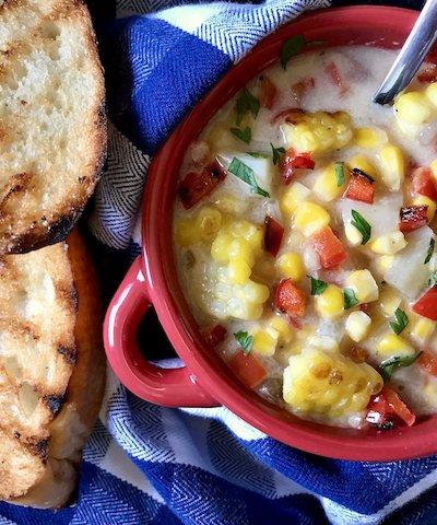 Creamy Sweet Corn Chowder