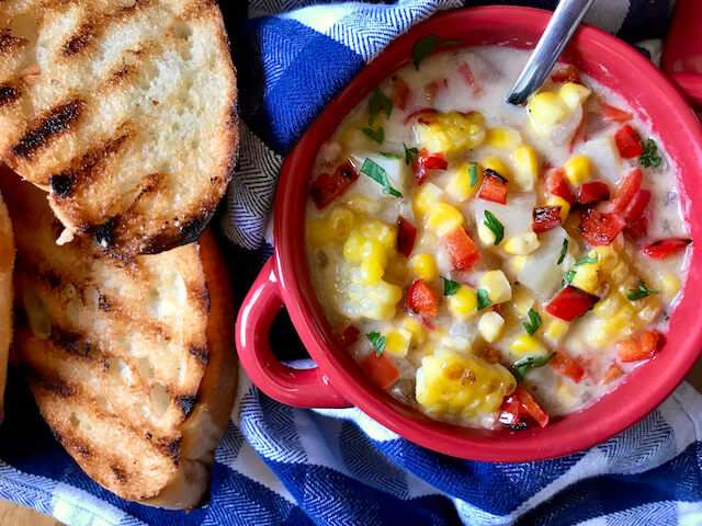 Creamy Sweet Corn Chowder