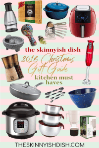 Whether you need gift ideas for friends and family or for yourself, my 2018 Christmas Gift Guide has something for everyone! #giftguide #kitchenmusthaves