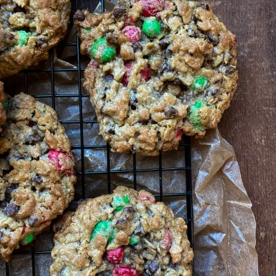 Santa's Favorite Monster Cookies