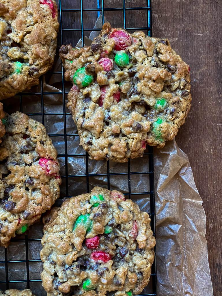 Santa's Favorite Monster Cookies